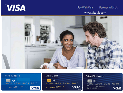 Visa Credit Card Application Online image