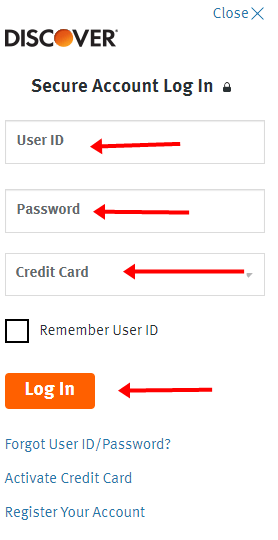 Discover Credit Card Login Now image