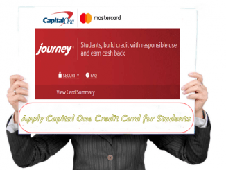 Credit Card Capital One Student image
