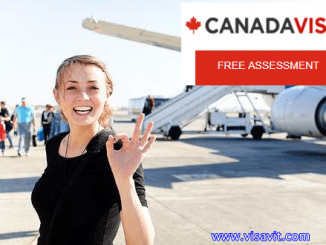 Canadian Visa Application form image