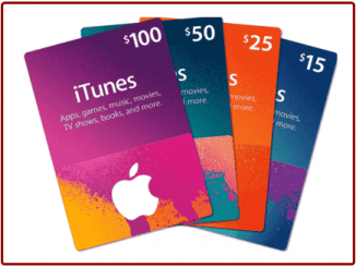 iTunes Gift Card Sign up image