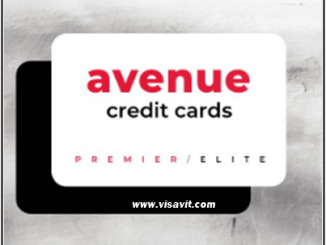 Sign In Avenue Credit Card image