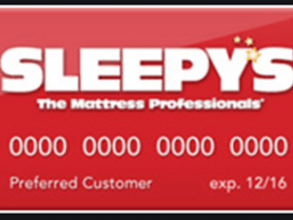 Sleepy's Credit Card image
