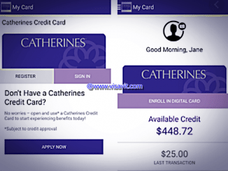 How to Pay my Catherines Credit Card image
