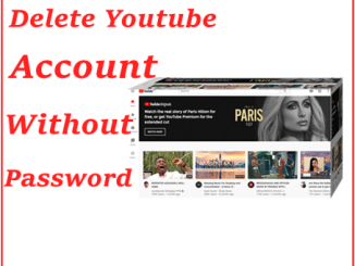 Delete YouTube Account Without Login image