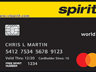Register Spirit Credit Card image
