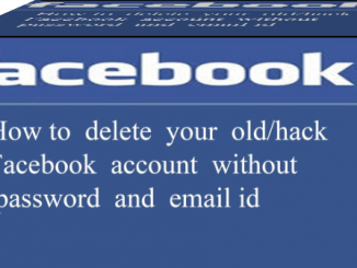 Delete Facebook Without Password image