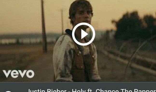 Watch Justin Bieber - Holy Music Video image