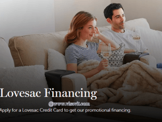 Lovesac Credit Card Benefits image