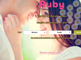 Ruby Dating Account Registration image
