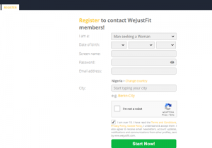 Sign In WeJustFit Account image