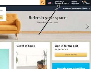 Sign In Amazon Account image