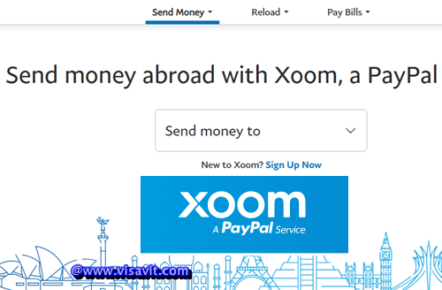Sign up Xoom with Paypal Account image